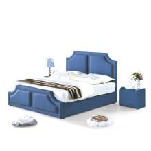 Cama caliente popular del dormitorio de la tela de la venta