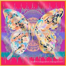 2014 New Design pure silk cashew hot hijab sexy women scarf
