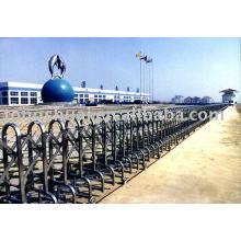 double track folding gate