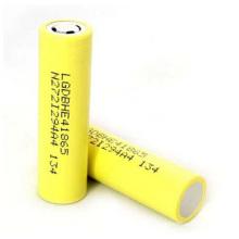 Lghe4 2500mAh 20A Discharge Bateria de lítio recarregável 3.7V 18650 Bateria