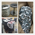Hot DIP Galvanized DIN764 Hierro cadena de enlace medio