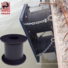 Parachoques de guardabarros de celda permitido por el OEM para proteger el puerto