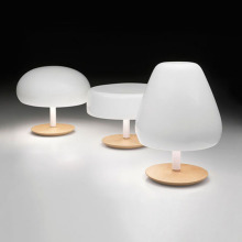 Lampes de table blanches