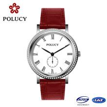 High Quality Genuine Leather Fashion Lady Watch