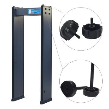 Inspecção da Fábrica de Zonas 2 200 Sensitivity Walk Through Metal Detector