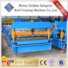 Máquina de formação de chapa de aço JCX, máquina de fabricação de telhados metálicos