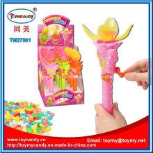 Flash Plastic Lotus Blume Shantou Spielzeug mit Süßigkeiten