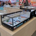 5pan kecil sushi showcase lemari display komersial kulkas
