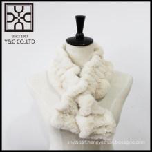 New design White Fake Fur Snood