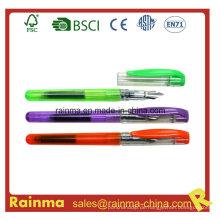 Farbe Kunststoff Füllfederhalter mit Tintenpatrone