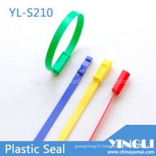 Joints en plastique de sécurité à longueur fixe avec numéro (YL-S210)