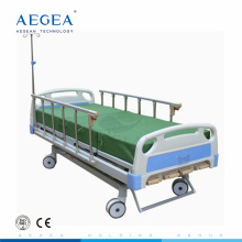 AG-BMS001B five function invacare mexico crank manual hospital bed with I.V pole