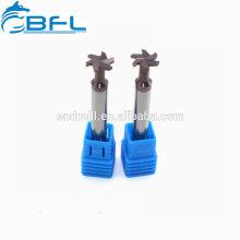 Fraises en bout revêtues en forme de T en carbure monobloc BFL