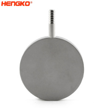 HENGKO Food grade sintered stainless steel 316L micro ozone air bubble stone for Filter Brewing Industry