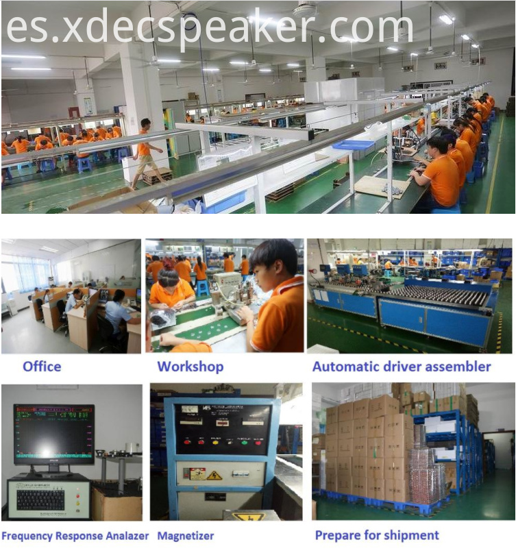 xdec WORKSHOP to produce mylar speaker,multimedia speaker,headphone speakr, soundbox speaker, and so on