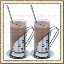 Acero inoxidable tazas de café irlandés