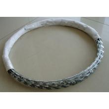 Fil de rasoir galvanisé / fil de concertine
