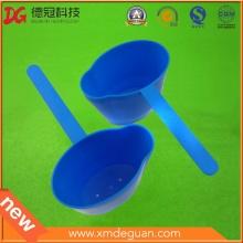 80ml de polvo de lavado de alimentos para animales de plástico de medición de cucharada
