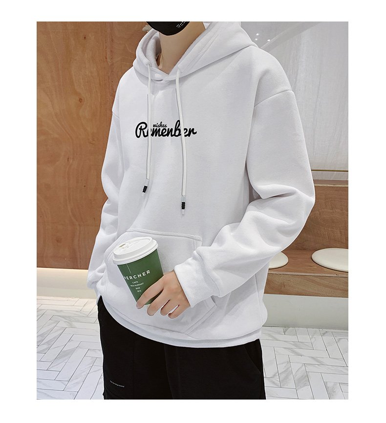 Pure Color Style Sweatshirts