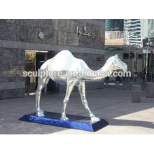 Large Modern Animals statue or Arts Outdoor Decoration stainless steel sculpture
