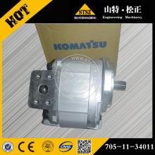 Komatsu запчасти WA120-1LC насос в сборе колесный погрузчик запчасти 705-11-34011A