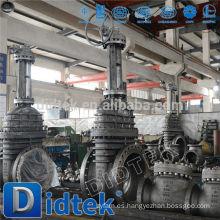 Didtek Válvula de compuerta con engranaje cónico de calidad superior
