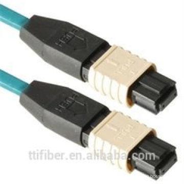 12core MPO Faser optische Kabelverbindungen mit hohem Rücklaufverlust