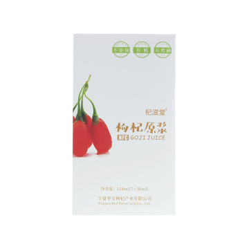 QIZITO NFC Goji Juice 30ml في كيس
