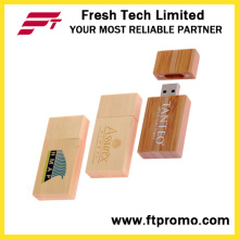 Personalizado de bambú y estilo de madera USB Flash Drive (D820)