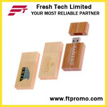 Flash USB personnalisé en bambou et style bois (D820)