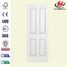 30 pulg. X 80 pulg. Solidoor Liso de 4 paneles sólidos con revestimiento primario compuesto de placa de puerta interior