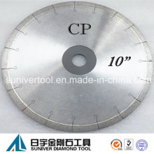 "10"" Diamond Saw Blade for Porcelain Tile Cutting"
