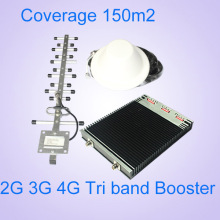 850 1900 2100MHz Tri Band Signal Booster Mobile Signal Amplifier
