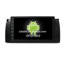 Vier Kern! Android 6.0 Auto-DVD für BMW E39 mit 9-Zoll-Kapazitiven Bildschirm / GPS / Spiegel Link / DVR / TPMS / OBD2 / WIFI / 4G