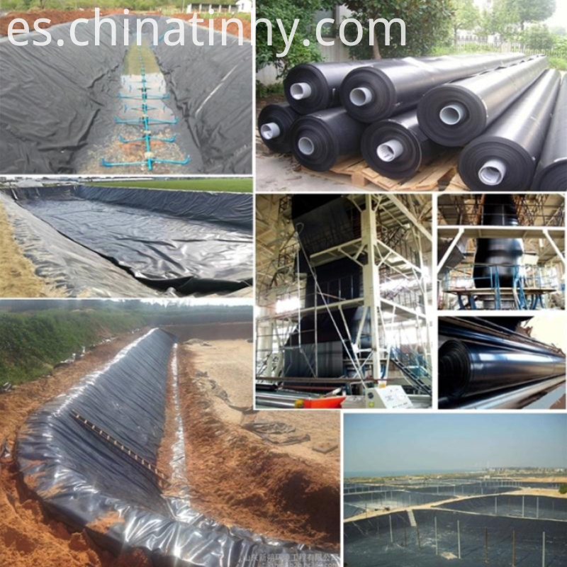 Geomembrane Production Application