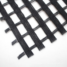 polyester Geogrid coating PVC for earthwork base material