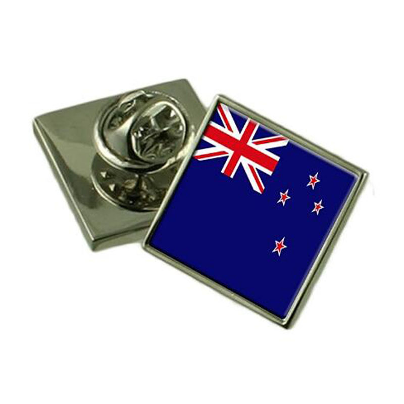 New Zealand Flag Lapel Pin Badge