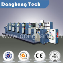 Adhesive Label Printing Machine with Die Cutting Function