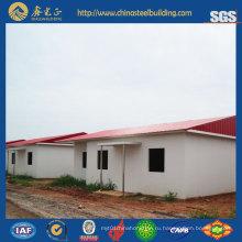 Стальная структура Вилла / сборные стальные конструкции Дома для проживания (SSH-14509)