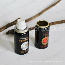 Lata de alumínio do aerossol 50ml para o pulverizador de perfume dos homens (PPC-AAC-031)