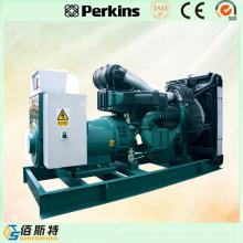 Gerador de motor a diesel de motor elétrico à prova de som 500kVA