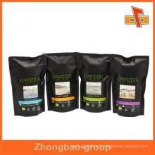 Laminated material Accept Custom plastic sealed bags coffee packaging plastic valve bags