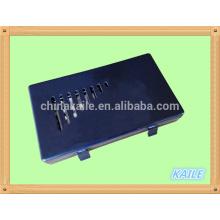 Doppel sechs weiße Farbe schwarz Domino mit Kunststoffbox