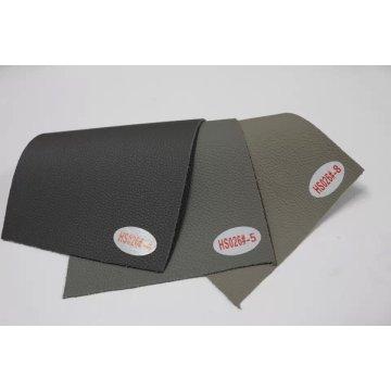 Estoque de fábrica de boa qualidade PU de couro sintético de microfibra (HS026 #)