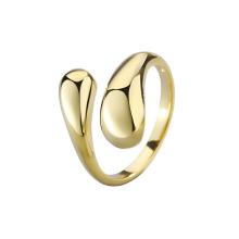 Fashion Accessories Brass Ring irregular cross shape Simple Popular Jewelry Women