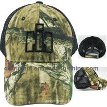Sombrero real del camionero de la tela cruzada del gorros (TRNT049)