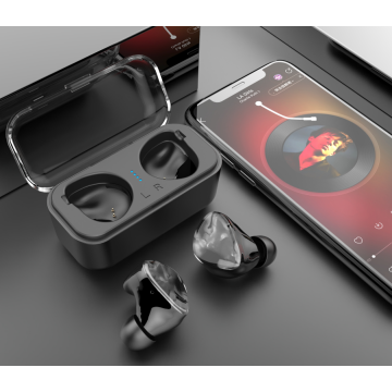 TWS Bluetooth In-Ear-Ohrhörer mit Ladekoffer