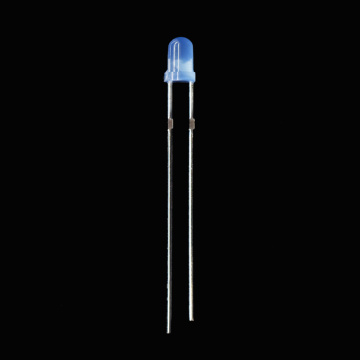 Super Helle 3mm Blaue LED Diffused 465nm LED