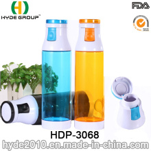 Portátil BPA livre plástico dobrável Esportes garrafa de água (HDP-3068)