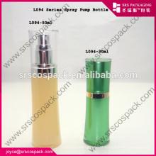 China Wholesale Branco garrafa acrílica para a fabricação de garrafas de perfume pessoais